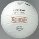 Tachikara Competition NFHS Indoor Full Grain Leather Volleyball by