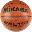 Intermediate / Women's Medium Channel Synthetic Leather Basketball From Mikasa (Set of 2)