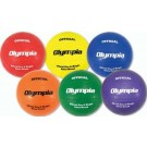 Soft Touch Rubber Volleyballs From Olympia - Set Of 6