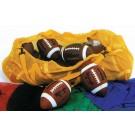"""36"""" Athletic Mesh Duffel Bag - Yellow (Set of 2)"""