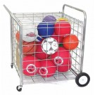 Lock-Up Security Ball Locker / Cart