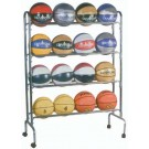 4 Shelf 16 Ball Economy Ball Rack