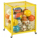 "Deluxe 27"" Long Yellow Grid Locker"
