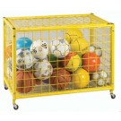 "Deluxe 42"" Long Yellow Grid Locker"