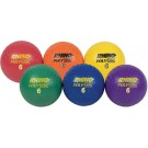 "6"" Rhino Poly Playground Balls - Set of 6"