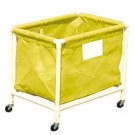 Yellow PVC Laundry and Equipment Cart