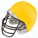 Economy Football Helmet Covers (Gold) - 1 Dozen