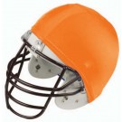 Economy Football Helmet Covers (Orange) - 1 Dozen