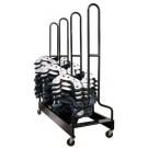 Four-Stack Football Shoulder Pad Rack