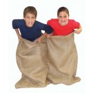 "40"" Tall x 48"" W Double Burlap ""Potato Sacks"" For Game - Set of 10"