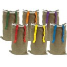 "36"" (7 oz.) Potato Sack with Flags - Set of 6"