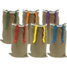 "40"" (10 oz.) Potato Sack with Flags - Set of 6"