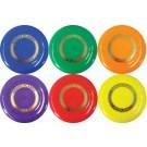 """9"""" Rainbow Flying Discs (Set of 18)"""