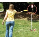 "1 Hole Outdoor 40"" Hoop Disc Toss Target Game"