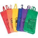 "26"" Colored / Numbered Potato Sacks - Set of 10"