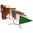 100' Pennant Streamer Crowd Control / Runway Flags (Set of 3)