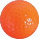 Orange Golf Balls (4 Sets of 12, Total of 48)