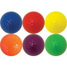 Colored Golf Balls - 1 Dozen