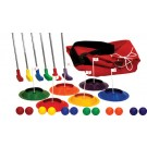 "12-Player Putt Golf Set with 32"" Putters"