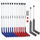 "42"" Shield Deluxe Hockey Set with 2 Goalie Hockey Sticks"