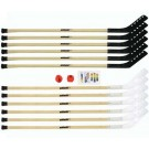 "56"" Wood Outdoor Hockey Set"