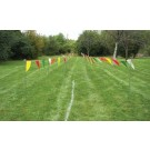 Cross Country Chute Marker Kit - 24 Posts and 200' of Streamers