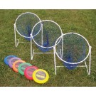 Low Disc Golf Target Sets (Includes 3 Targets and 6 Discs)