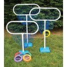 High Disc Golf Target Sets (Includes 3 Targets and 6 Discs)