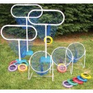 High / Low Disc Golf Target Sets (Includes 3 Low Targets, 3 High Targets and 12 Discs)