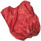 Adult Red Mesh Game Vests - Set Of 6