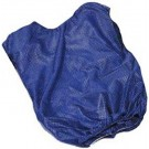 Adult Blue Mesh Game Vests - Set Of 6