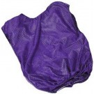 Adult Purple Mesh Game Vests - Set Of 6