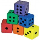 "3"" Foam Dice Set"