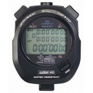 100 Lap Memory Stopwatch Timer - Black by