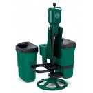 Deluxe Ball Washer Ensemble with Trash Mate Double Unit, Spike Brush and Club Washer
