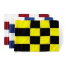 Tie-Style Checkered Golf Flags - Set of 9