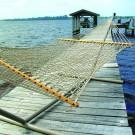 Pawleys Island Large Original DuraCord Rope Hammock (Tan) by