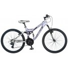 "Mongoose 24"" Girl's Maxim 21-speed Bicycle / Bike (Lavender)"