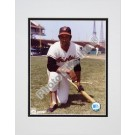 "Frank Robinson Baltimore Orioles ""Kneeling with Bat"" Double Matted 8"" X 10"" Photograph (Unframed)"