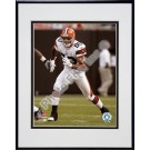 "Kellen Winslow Jr. ""2007 Action"" Double Matted 8"" x 10"" Photograph in Black Anodized Aluminum Frame"