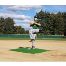 "ProMounds Little League Pitching Game Mound - ""Bronco Style"" in Green Turf"