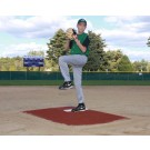 "ProMounds Little League Pitching Game Mound - ""Bronco Style"" in Clay colored Turf"