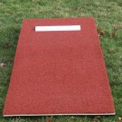 "ProMounds Junior Pitching Mound 6""H x 30""W x 76""L - Clay Colored Turf"