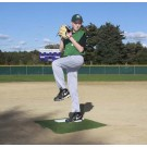 ProMounds Portable Baseball Pitching TRAINING Mound - GREEN Turf
