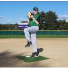 ProMounds Portable Baseball Pitching TRAINING Mound - GREEN Turf