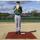 "ProMounds ""Minor League Style"" Pitching Game Mound - Clay colored Turf"