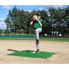 "ProMounds ""Minor League Style"" Pitching Game Mound - Green Turf"