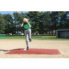 "ProMounds Little League Pitching Game Mound - ""Major League Style"" in Clay colored Turf"