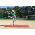 """ProMounds """"Major League Style"""" Pitching Game Mound - Clay colored Turf"""