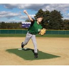 "ProMounds ""Major League Style"" Pitching Game Mound - Green Turf"